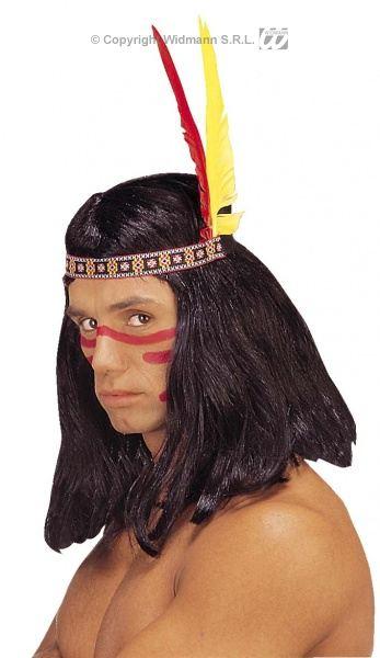 4c415999c21 Čelenka Indiánská 2 péra
