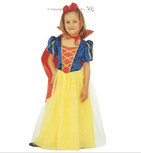 66684ecebdfb Dětský kostým Sněhurka s mašlí do vlasů 110 (3-4 roky)
