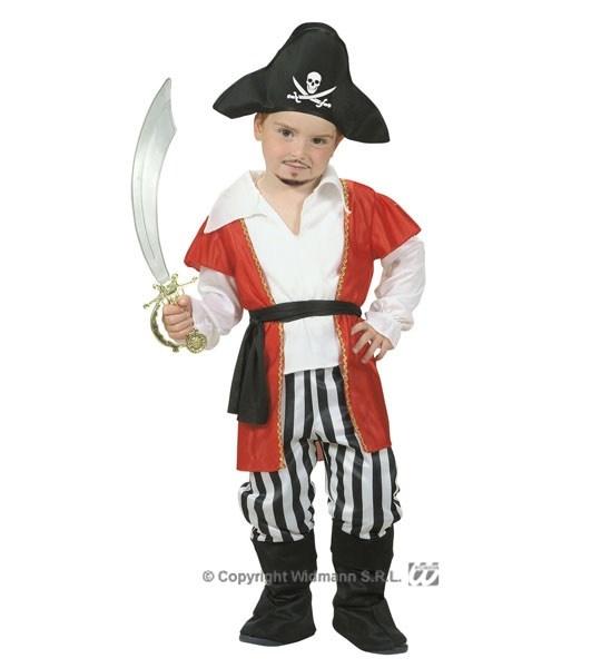 Dětský kostým malý Pirát s kloboukem 98 (1-2 roky) 3ed7bc62a70