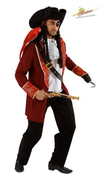 Kostým Pirát Hook vel. XL e49fb175fc2