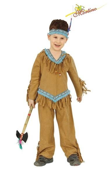 Dětský kostým Indián s čelenkou vel. 116 cm (6 let) 23064b40bc