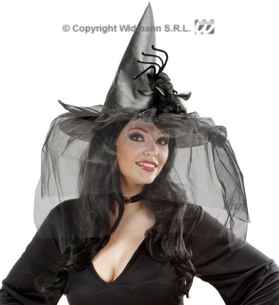 Čarodějnický klobouk se sítí a pavoukem (1) ... b5b6dfda8e
