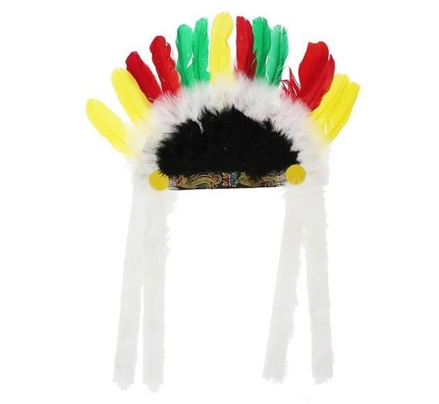9f8624b4807 Indiánská čelenka Náčelník