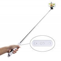 Selfie Bluetooth tyč stativ 90cm pro Android a iOS (2)